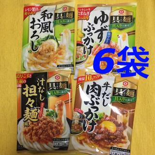 キッコーマン(キッコーマン)の具麺 ぐーめん 6袋(レトルト食品)