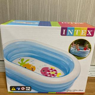 インデックス(INDEX)のINTEX パイレーツフレンドプール 163×107×46cm【ビニールプール】(マリン/スイミング)