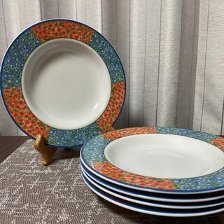 ビレロイアンドボッホ(ビレロイ&ボッホ)の美品 ビスタ・アレグレ パスタプレート 5枚(食器)