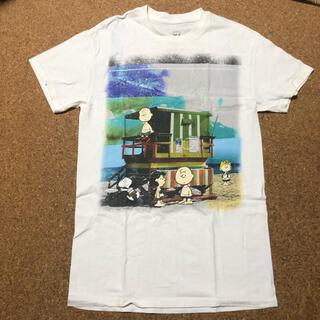 スヌーピー(SNOOPY)のハワイ 購入 スヌーピー  Tシャツ PEANUTS ビーチ サーフィン 美品(Tシャツ/カットソー(半袖/袖なし))