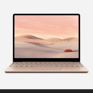 マイクロソフト(Microsoft)のSurface Laptop Go(8GB/128GB) サンドストーン(ノートPC)