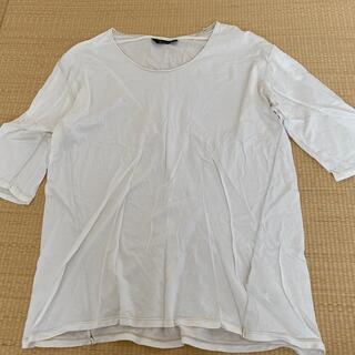 ジョンブル(JOHNBULL)の値下げ!美品ジョンブル 五分袖Tシャツ(Tシャツ/カットソー(半袖/袖なし))