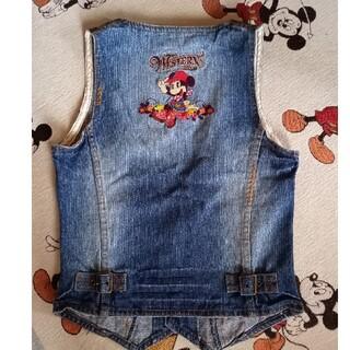 ディズニー(Disney)のミニーマウス デニムベスト(その他)