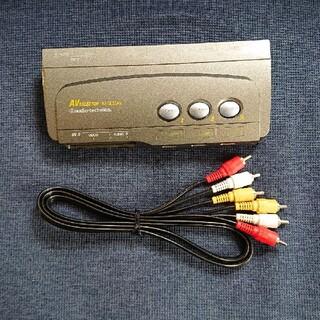 オーディオテクニカ(audio-technica)のavセレクター AVセレクター audio-technica オーディオテクニカ(その他)