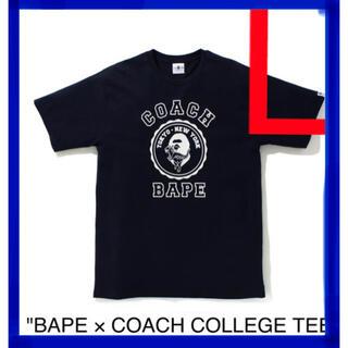 コーチ(COACH)の【新品】【新品】BAPE COACH ベイプコーチ Tシャツ(Tシャツ/カットソー(半袖/袖なし))