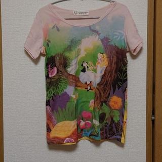 アフタヌーンティー(AfternoonTea)の不思議の国のアリス Tシャツ 38サイズ(Tシャツ(半袖/袖なし))