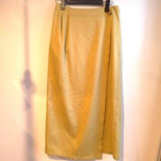 シンゾーン(Shinzone)の☆ザ シンゾーン ロング スカート イエロー ラップスカート☆(ロングスカート)