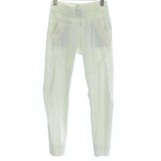 ダブルスタンダードクロージング(DOUBLE STANDARD CLOTHING)のダブルスタンダードクロージング 18SS メリルハイテンション パンツ 白 38(その他)