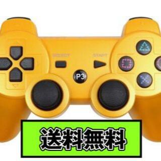 PS3 コントローラー ゴールド Gold 金色 Bluetooth 互換品(その他)