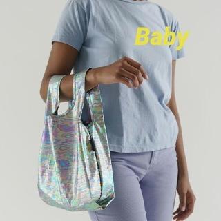 BAGGU エコバッグ ベビー Baby レインボーメタリック 新品未使用(エコバッグ)