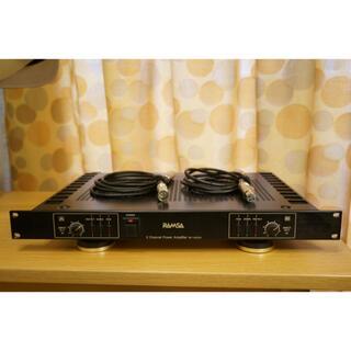 パナソニック(Panasonic)のラムサ 2チャンネルパワーアンプ WP-9055A(パワーアンプ)