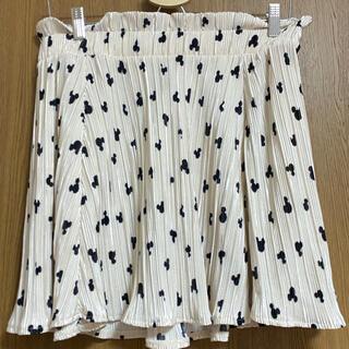 ディズニー(Disney)のスカート ミッキー ディズニー ウエストゴム XL H &M(ミニスカート)