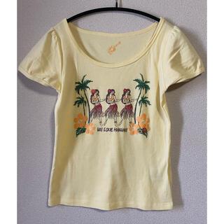 フェルゥ(Feroux)のオンワード☆Feroux(フェルゥ)ハワイアンプリントTシャツ(Tシャツ(半袖/袖なし))