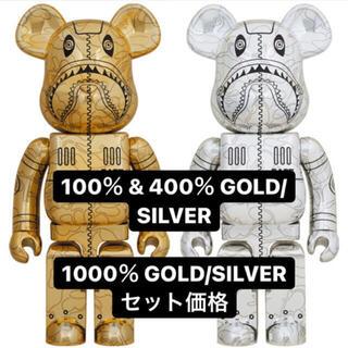メディコムトイ(MEDICOM TOY)のBE@RBRICK SORAYAMA BAPE 1000% 400% 100%(キャラクターグッズ)