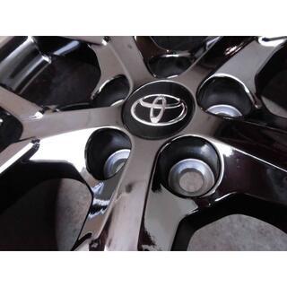 トヨタ - 50系 プリウス PHV GR 純正ダークスパッタリングホイール 新車外し 4本