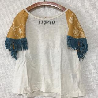 ゴートゥーハリウッド(GO TO HOLLYWOOD)のgotohollywood スカーフ袖Tシャツ110(Tシャツ/カットソー)