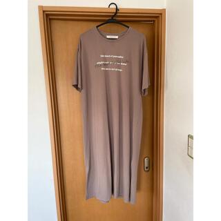 アズノウアズ(AS KNOW AS)のロングTシャツ 美品(Tシャツ(半袖/袖なし))