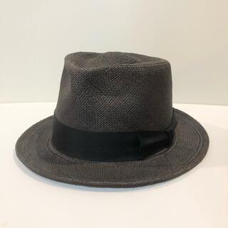 ワコマリア(WACKO MARIA)のワコマリア パナマ ハット 黒 アロハ シャツ パンツ キャップ 帽子 (ハット)