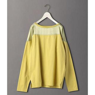 ビューティアンドユースユナイテッドアローズ(BEAUTY&YOUTH UNITED ARROWS)の<6(ROKU)>SATIN COTTON T-SHIRT(Tシャツ(長袖/七分))