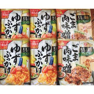 キッコーマン(キッコーマン)のキッコーマン食品 具麺 ゆずぶっかけ ごま肉味噌 120g ×6袋  12食分(レトルト食品)