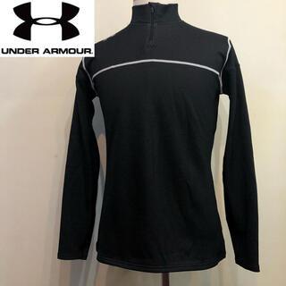 アンダーアーマー(UNDER ARMOUR)のアンダーアーマー◇コンプレッション ゴールドギア ウエア◇ブラック XLサイズ(Tシャツ/カットソー(七分/長袖))