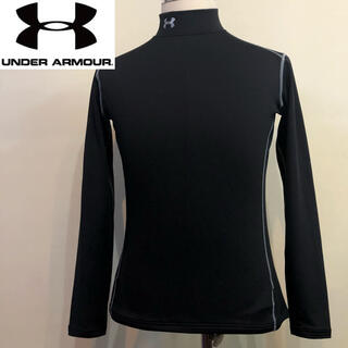 アンダーアーマー(UNDER ARMOUR)のアンダーアーマー◇コンプレッション ゴールドギア ウエア◇ブラック Mサイズ(Tシャツ/カットソー(七分/長袖))