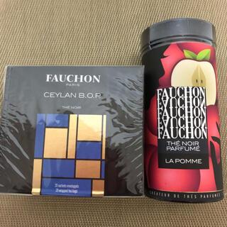 タカシマヤ(髙島屋)のFAUCHON フォション 紅茶2種類(茶)