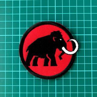 マムート(Mammut)の★補強有り★マムート MAMMUT 刺繍 アイロンワッペン 新品未使用品(その他)