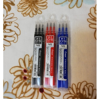 フリクションメイド(FRICTION made)のフリクション 替芯 0.5mm 赤青黒(ペン/マーカー)