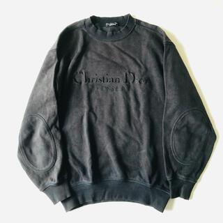 クリスチャンディオール(Christian Dior)のChristian Dior スウェット ロゴ 刺繍(スウェット)