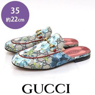 Gucci - 美品♪グッチ ホースビット プリンスタウン GGフローラ スリッポン 35(22