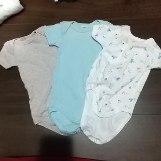 プティマイン(petit main)のちゃん様専用⬛️ベビ割⬛️新生児肌着3枚セット小さめ(肌着/下着)
