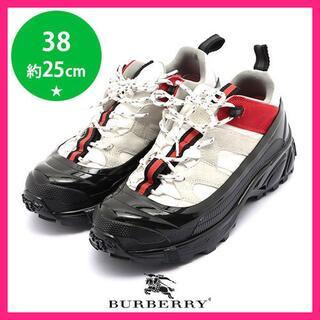 バーバリー(BURBERRY)の美品♪バーバリー ダッド スニーカー 38(約25cm)(スニーカー)