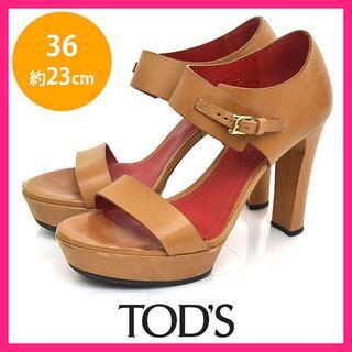 トッズ(TOD'S)のトッズ ベルト サンダル 36(約23cm)(サンダル)