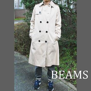 ビームス(BEAMS)の【春秋用】軽めトレンチコート ライトベージュ ビームス(トレンチコート)