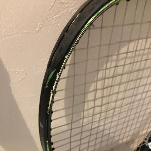 YONEX(ヨネックス)のガット張ります!ヨネックスYONEX  EZONE LITEイーゾーンライト2本 スポーツ/アウトドアのテニス(ラケット)の商品写真