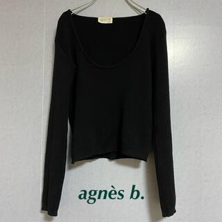 アニエスベー(agnes b.)の【お値下げ中!】アニエスベー ニットトップス agnès b. (ニット/セーター)