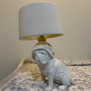 フランフラン(Francfranc)のFrancfranc フレンチブルドッグ 照明 ランプ(テーブルスタンド)