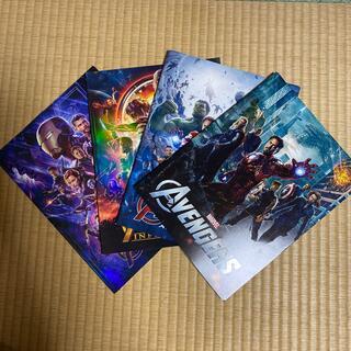 マーベル(MARVEL)の洋画アベンジャーズシリーズ4作品パンフレット(印刷物)
