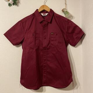 ベンデイビス(BEN DAVIS)のBEN DAVIS バック刺繍半袖ワークシャツ(シャツ)