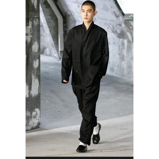 ルメール(LEMAIRE)のLEMAIRE black leather loafers レザー ローファー(スリッポン/モカシン)