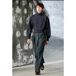 ルメール(LEMAIRE)のLEMAIRE Cotton-jersey neck sweater (ニット/セーター)