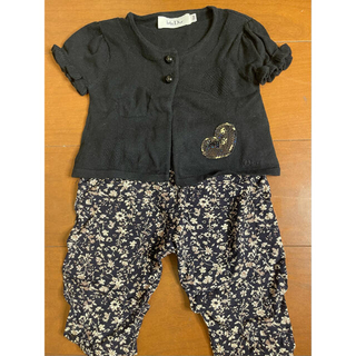 ベビーディオール(baby Dior)のBaby Dior の半袖カーディガン(カーディガン/ボレロ)