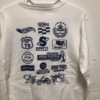 ステュディオダルチザン(STUDIO D'ARTISAN)のステュディオダルチザン プリントロングスリーブTシャツ ロンT 長袖(Tシャツ/カットソー(七分/長袖))