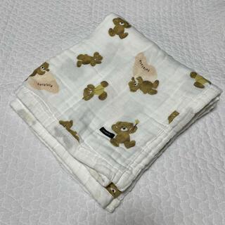フタフタ(futafuta)のフタクマ 多重織ガーゼケット(おくるみ/ブランケット)