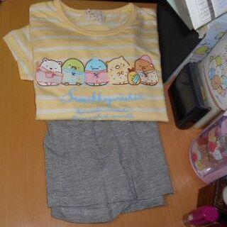サンエックス(サンエックス)のキッズ用☆すみっコぐらしパジャマ半袖120(パジャマ)
