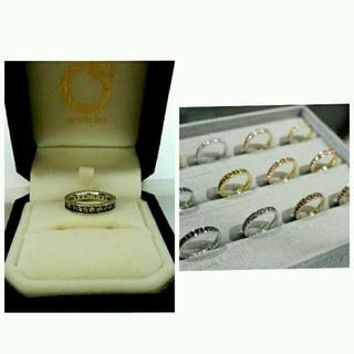 ヴェレッタオッターヴァ フルエタニティ 指輪 18金 wg 正規品 本物 宝石(リング(指輪))