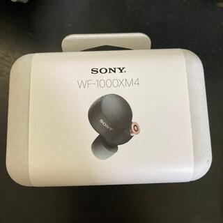 ソニー(SONY)のSONY WF-1000XM4 ブラック Black BM(ヘッドフォン/イヤフォン)