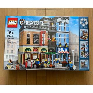 レゴ(Lego)の新品 レゴ 探偵事務所 10246 美品(知育玩具)