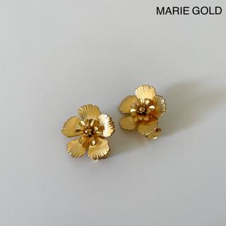 イエナ(IENA)のMARIE GOLD Flower イヤリング(イヤリング)